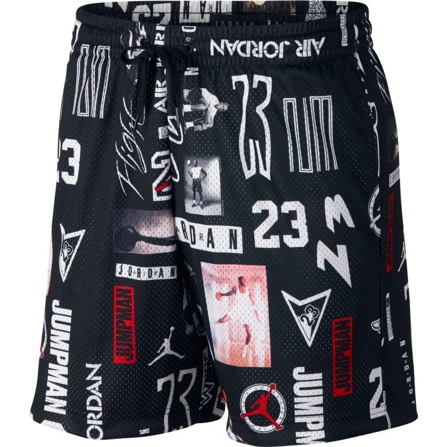 368c635a7d6 Air Jordan Jumpman GFX Mesh Basketball Shorts - AO9585-010 ...