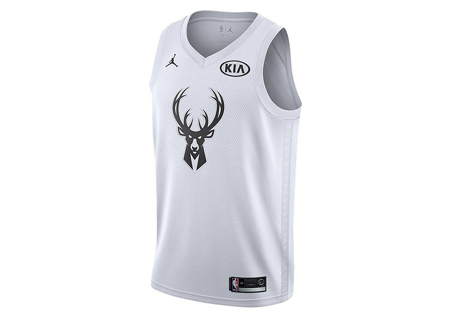 best service eb7e5 1cba5 Air Jordan NBA All-Star Edition Giannis Antetokounmpo Swingman Jersey