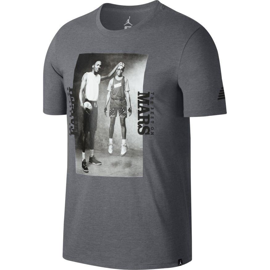 c40102e7e3d267 Air Jordan Sportswear Mars Blackmon Photo T-Shirt - 878411-091 ...