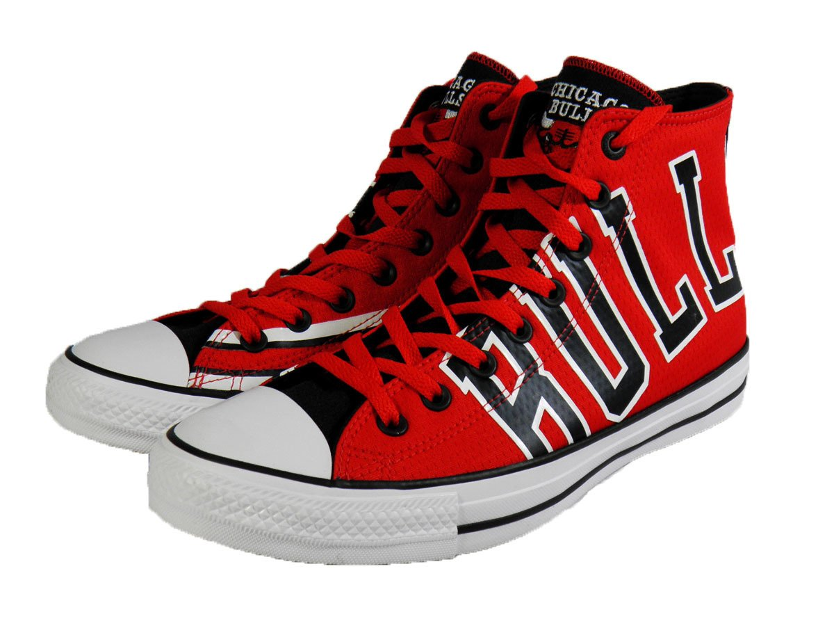 Converse Chuck Taylor All Star High NBA Chicago Bulls Shoes