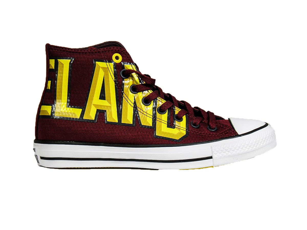 ab78559a36b781 Converse Chuck Taylor All Star High NBA Cleveland Cavaliers Shoes - 159417C