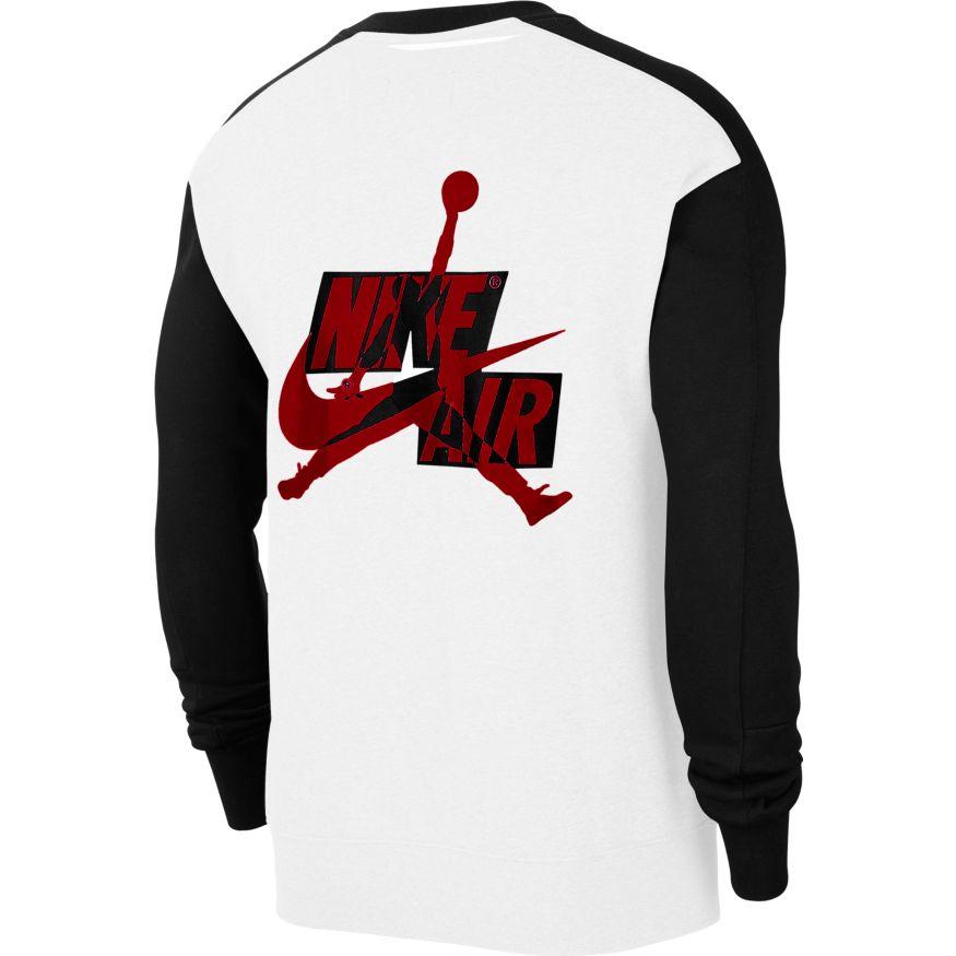 A la meditación persecucion literalmente  Jordan Jumpman Classics Men's Fleece Crew - CK6763-100 | Clothing \ Casual  Wear \ Hoodies | Sklep koszykarski Basketo.pl