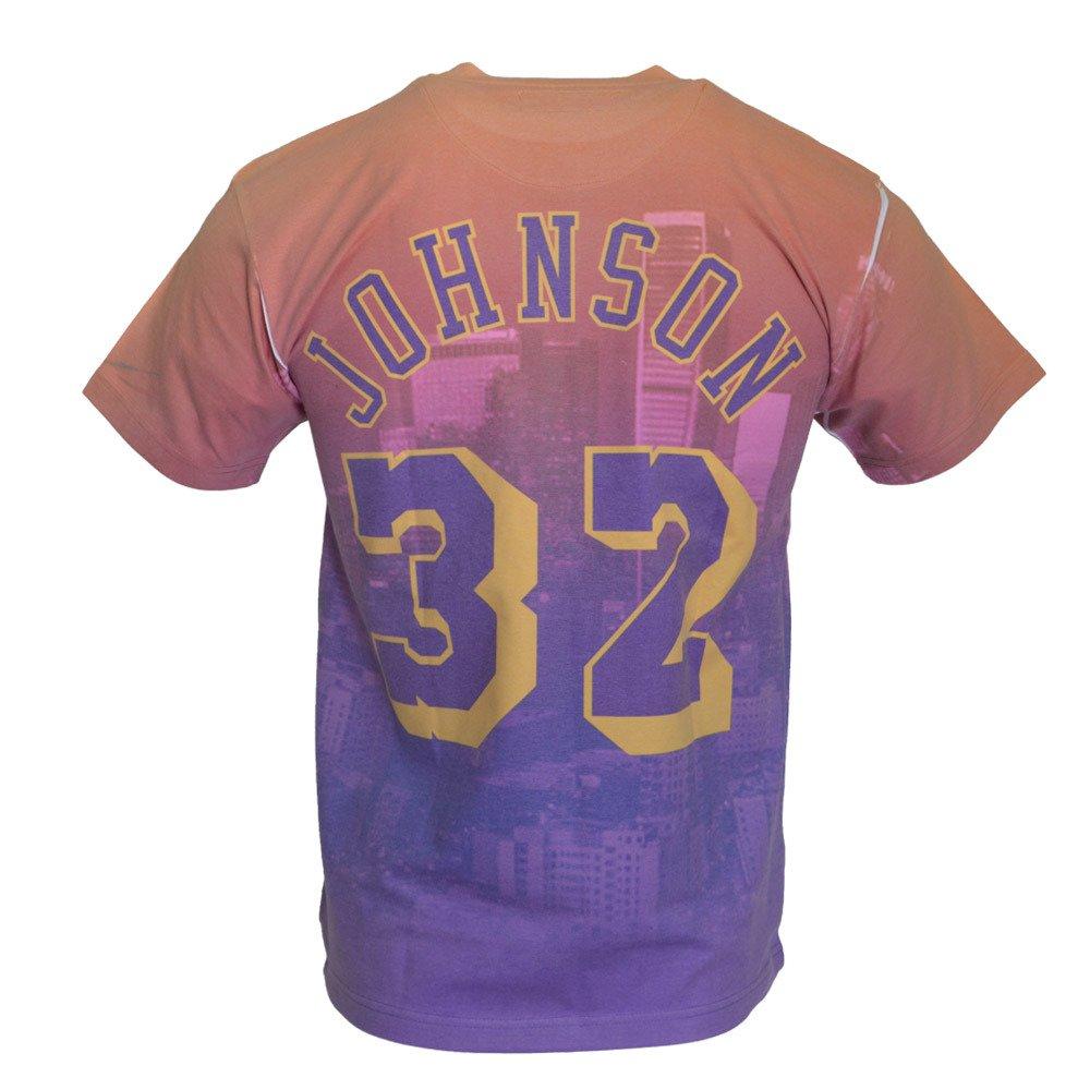 online store 3ab1c 6f703 Los Angeles Lakers City Pride M&N Magic Johnson T-shirt -  BMTRKT18007-LALPURPEJH