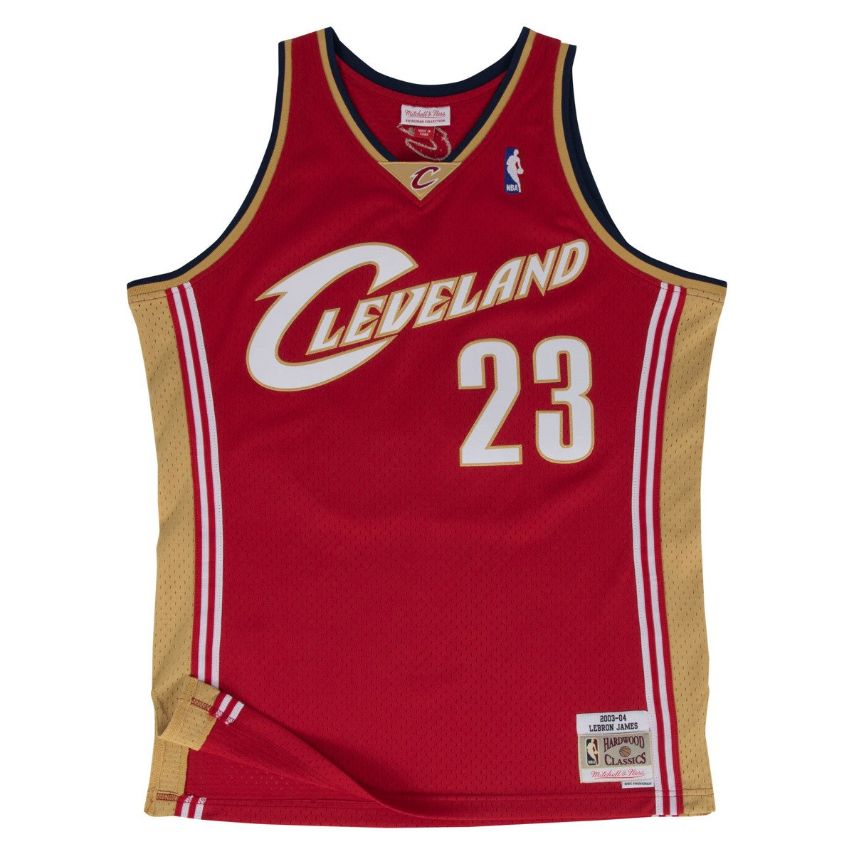 promo code 06792 2382f Mitchell & Ness LeBron James 2003-04 NBA Swingman Cleveland Cavaliers Jersey