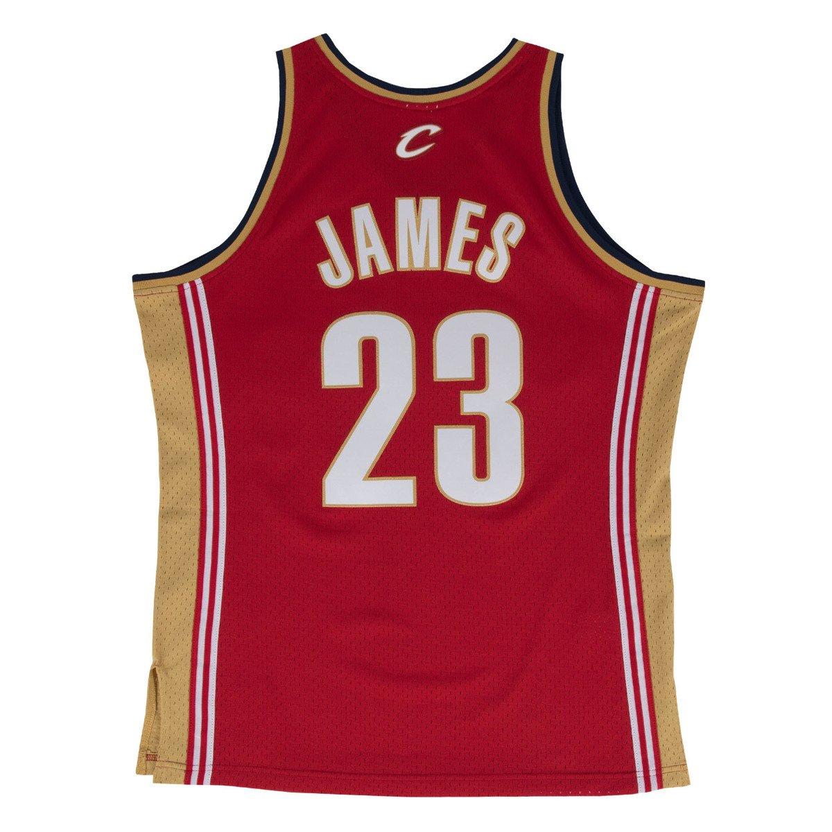 promo code d3ef8 84122 Mitchell & Ness LeBron James 2003-04 NBA Swingman Cleveland Cavaliers Jersey