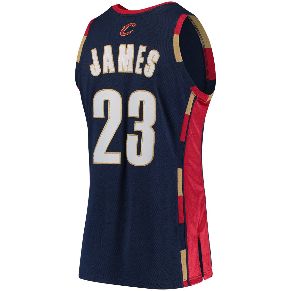 official photos a21e9 9c0ab Mitchell & Ness LeBron James 2008-09 NBA Hardwood Classics Authentic  Cleveland Cavaliers Jersey