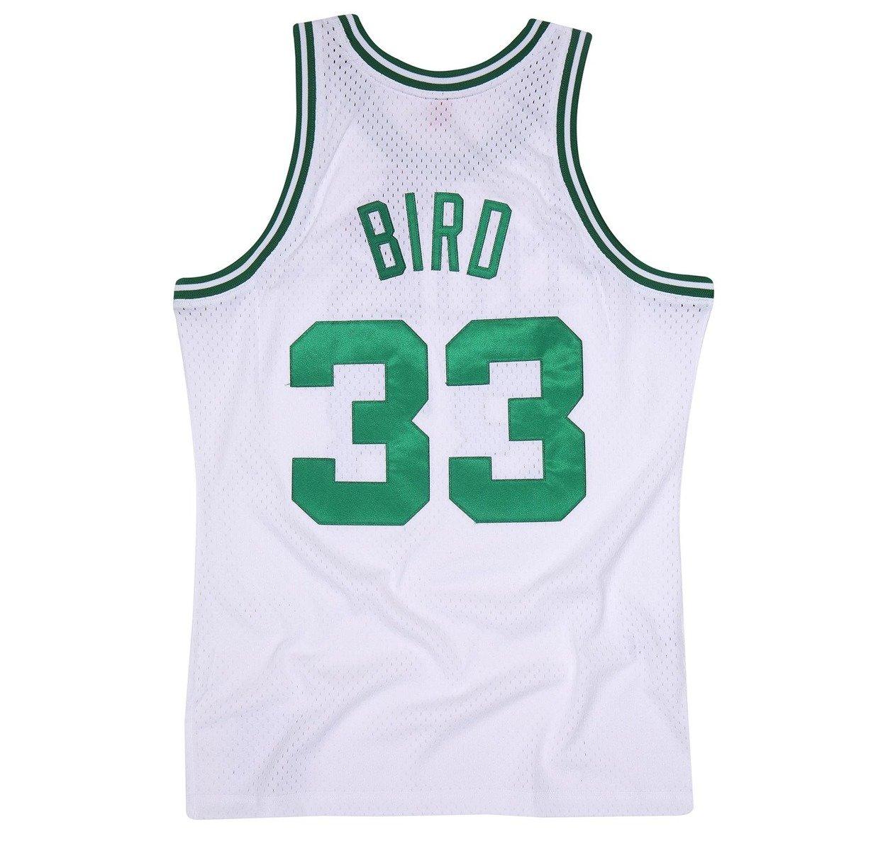 newest d464b 3e5e3 Mitchell & Ness NBA Boston Celtics Larry Bird Swingman Jersey