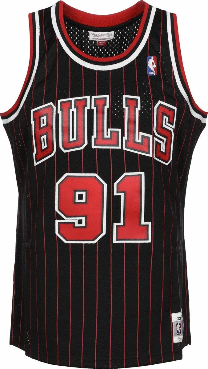 competitive price 44121 94df7 Mitchell & Ness NBA Chicago Bulls Dennis Rodman Swingman Jersey