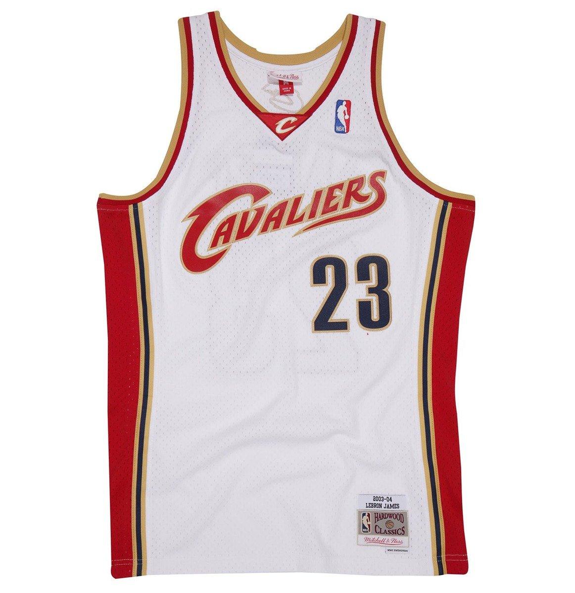 pretty nice e8ac4 b1afd Mitchell & Ness NBA Cleveland Cavaliers LeBron James Swingman Jersey