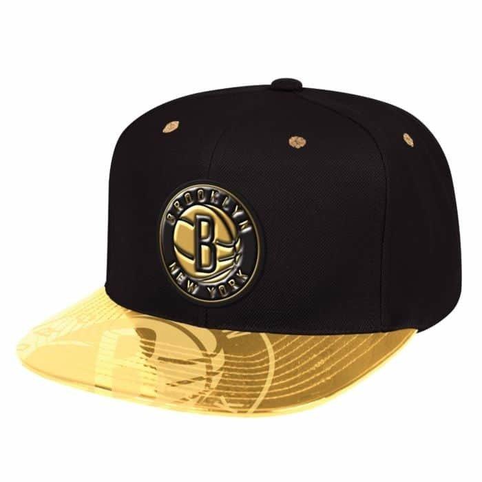 7a2d7156 Mitchell & Ness NBA Gold Standard Brooklyn Nets Snapback Brooklyn Nets |  Clothing \ Headwear | Sklep koszykarski Basketo.pl
