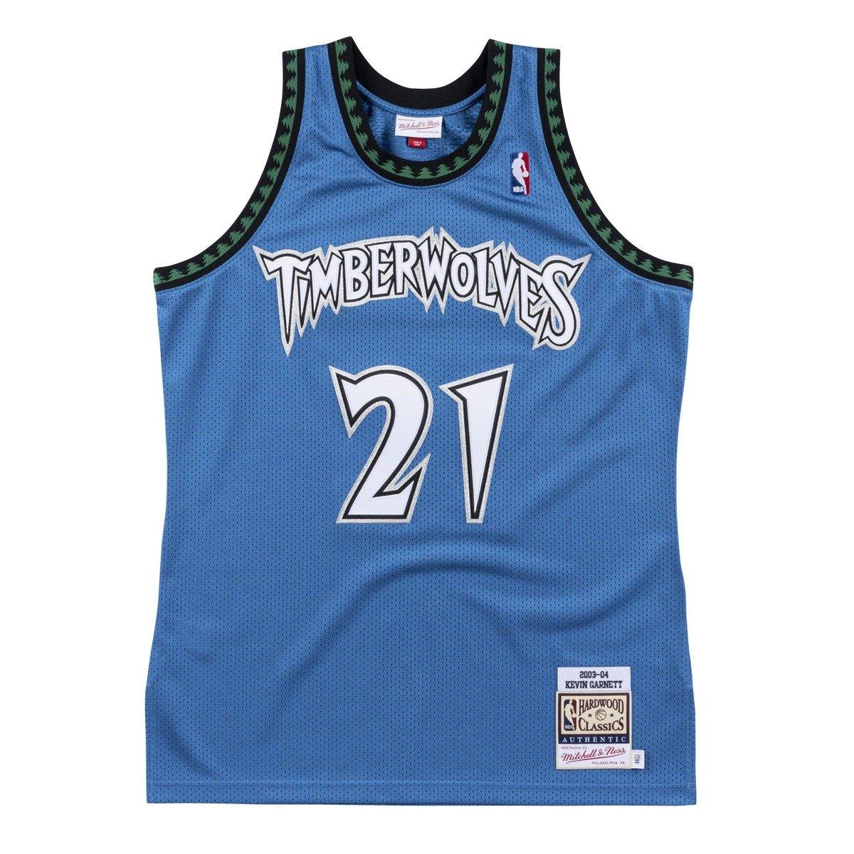 Mitchell Ness Nba Kevin Garnett Minnesota Timberwolves Authentic