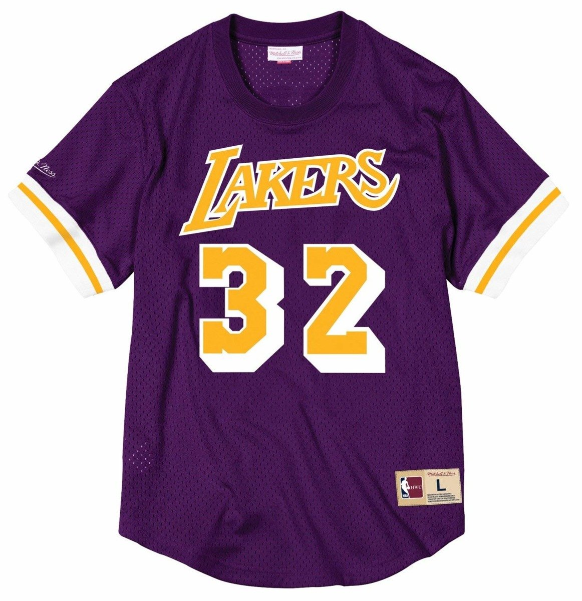 d422be31 Mitchell & Ness NBA Magic Johnson Los Angeles Lakers Mesh Crew Neck Johnson  | Clothing \ Casual Wear \ T-Shirts | Sklep koszykarski Basketo.pl