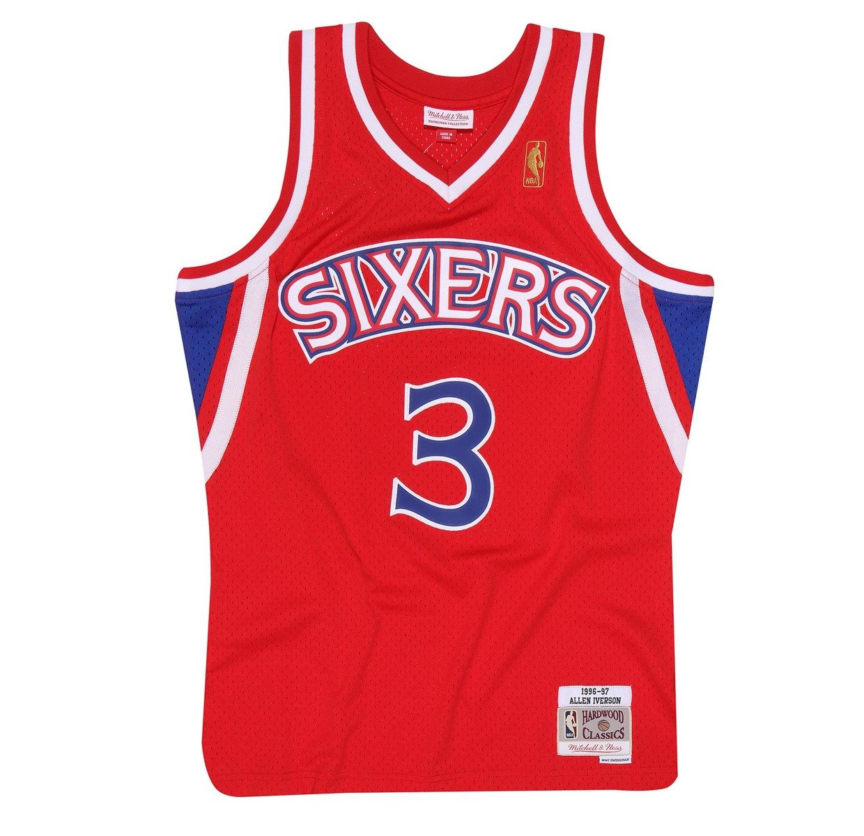 the latest 44499 f4b28 Mitchell & Ness NBA Philadelphia 76ers Allen Iverson Swingman Jersey