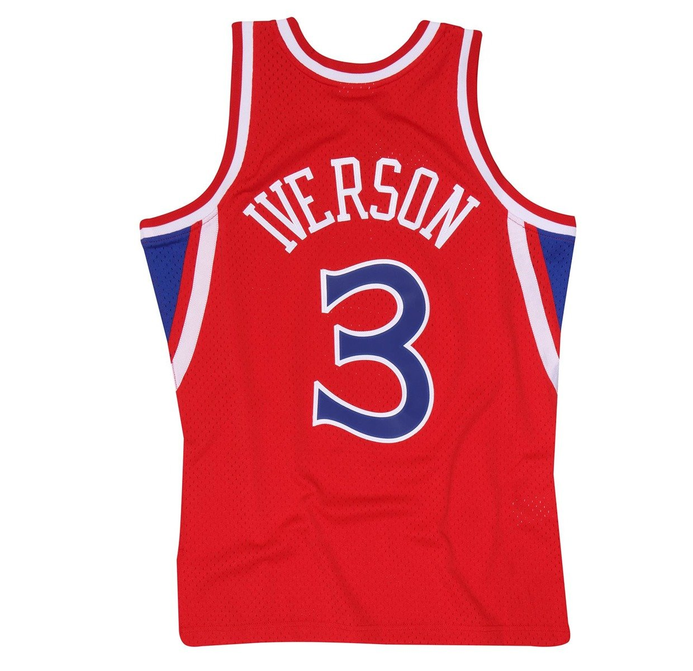 the latest 611e0 79372 Mitchell & Ness NBA Philadelphia 76ers Allen Iverson Swingman Jersey