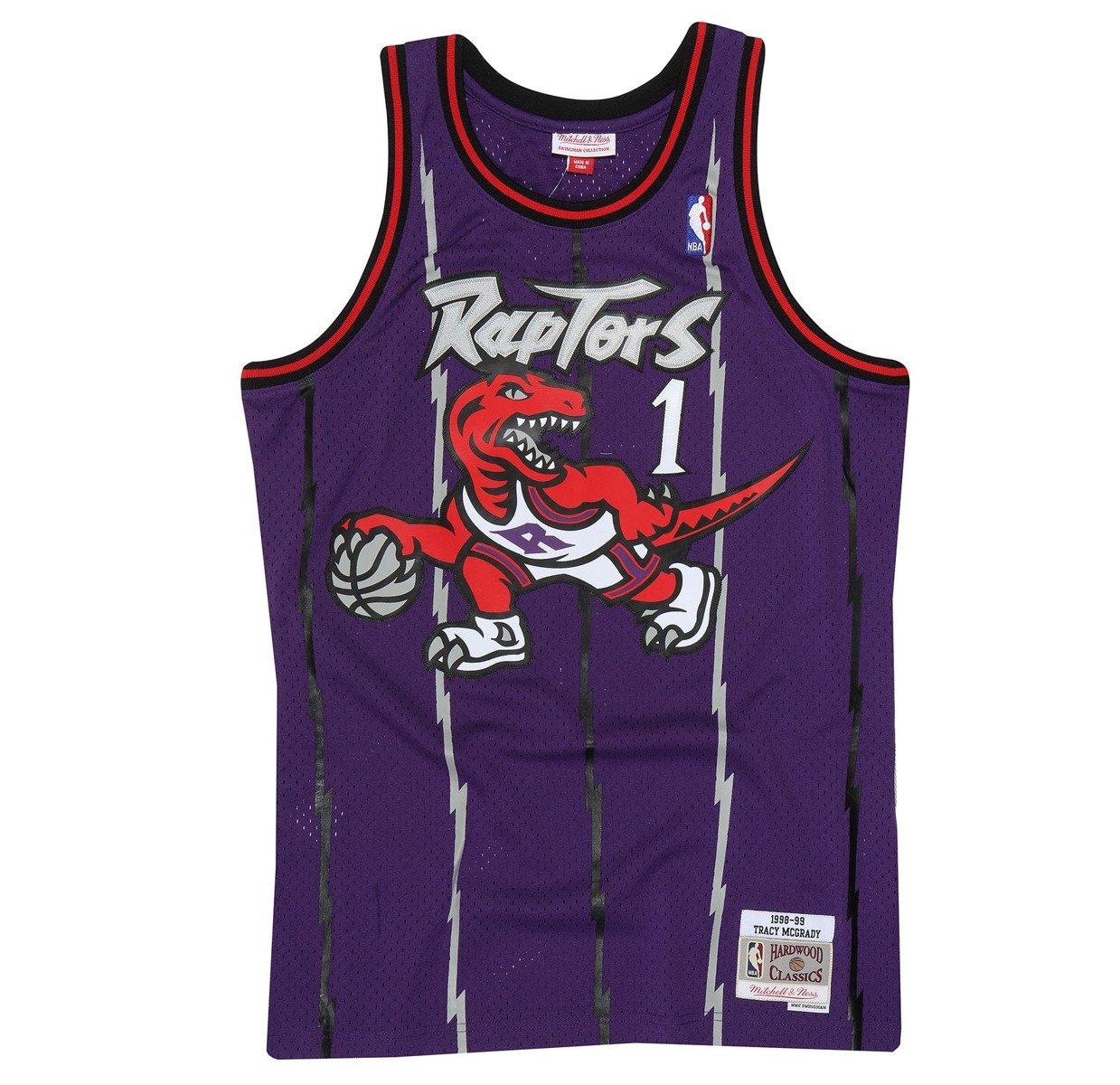 c063a2f4c Mitchell   Ness NBA Toronto Raptors Tracy McGrady Swingman Jersey ...