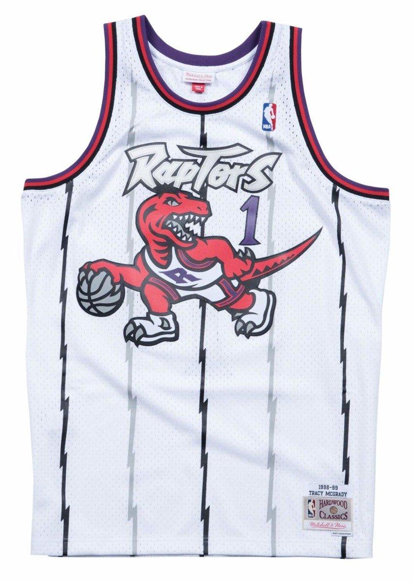 reputable site ec4ca 514a5 Mitchell & Ness NBA Toronto Raptors Tracy McGrady Swingman Jersey