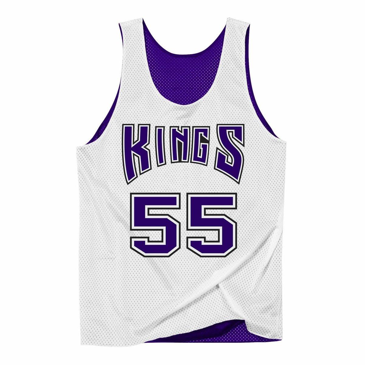 check out 515b3 73996 Mitchell & Ness Reversible Mesh Tank Sacramento Kings Jason Williams -  NNRMDA18007-SKIPRWH1JWI98