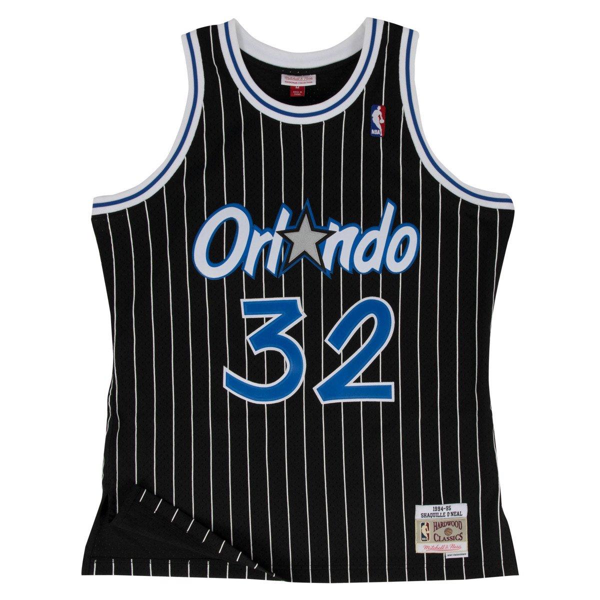 info for e5960 e2f45 Mitchell & Ness Shaquille O'Neal 1994-95 NBA Hardwood Classics Swingman  Orlando Magic Jersey