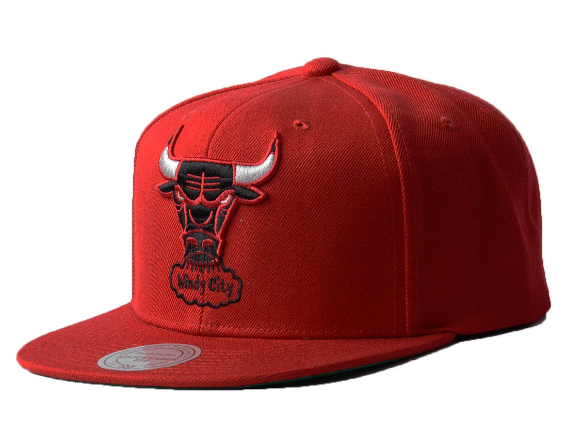 c4cbb001 Mitchell & Ness Wool Solid NBA Chicago Bulls Snapback Cap Chicago Bulls |  Clothing \ Headwear | Sklep koszykarski Basketo.pl