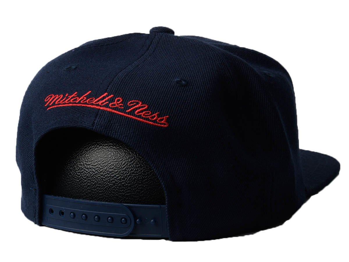 quality design dcb75 0eeb9 ... Mitchell   Ness Wool Solid NBA Houston Rockets Snapback ...