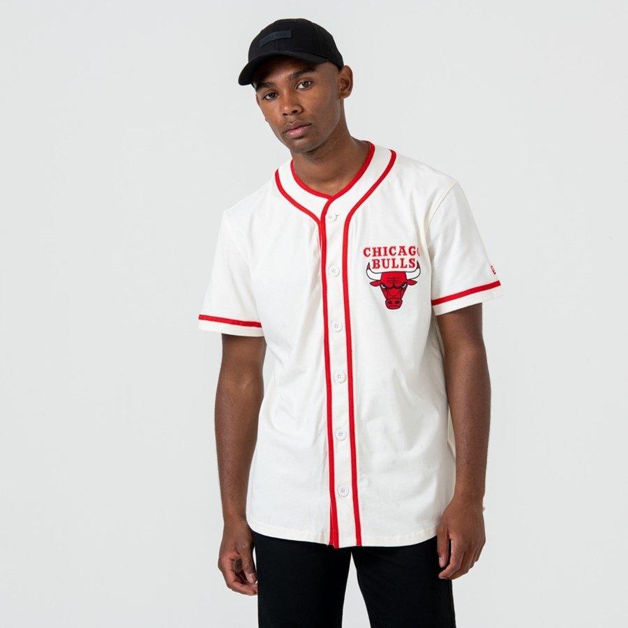 chicago bulls t shirt white