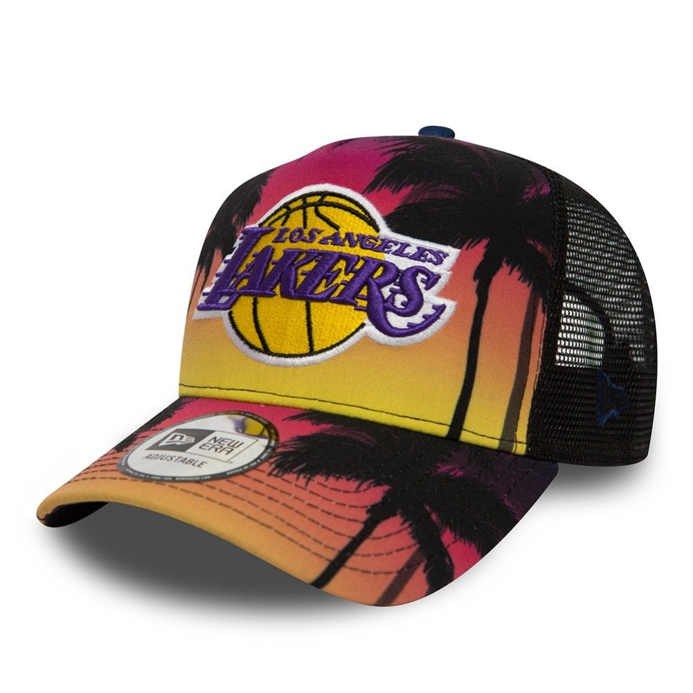 sports shoes 53103 c3f7e New Era Coastal Heat NBA Los Angeles Lakers Trucker Cap - 80581162 Golden  State Warriors   Clothing   Headwear   Sklep koszykarski Basketo.pl