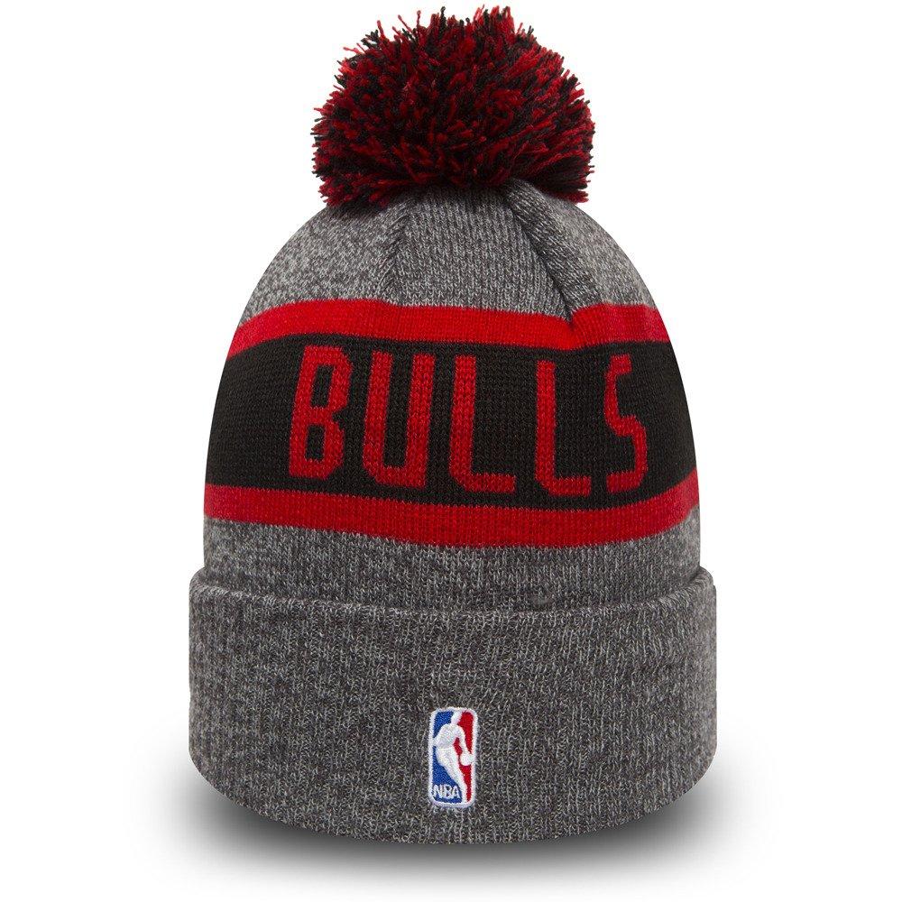 new era nba chicago bulls marl knit beanie 80524568. Black Bedroom Furniture Sets. Home Design Ideas