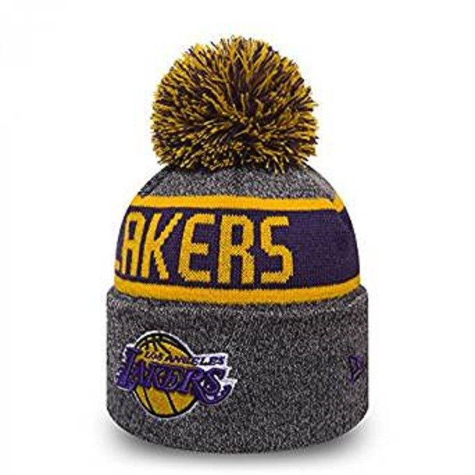 80391e121dcbee New Era NBA Los Angeles Lakers Marl Knit Beanie - 80524571 Lakers |  Clothing \ Headwear | Sklep koszykarski Basketo.pl