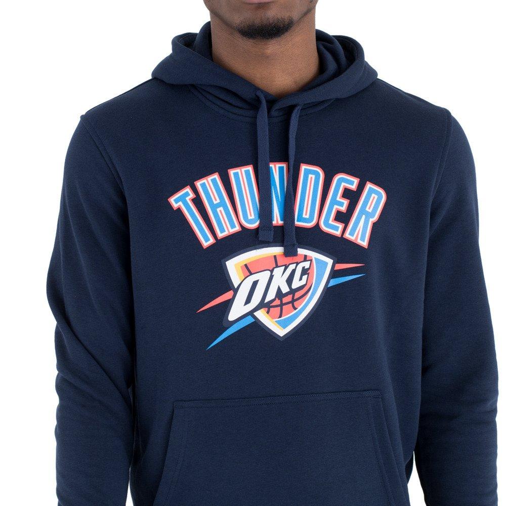 buy popular f4e18 aa665 New Era NBA Oklahoma City Thunder Team Logo Hoodie - 11546168