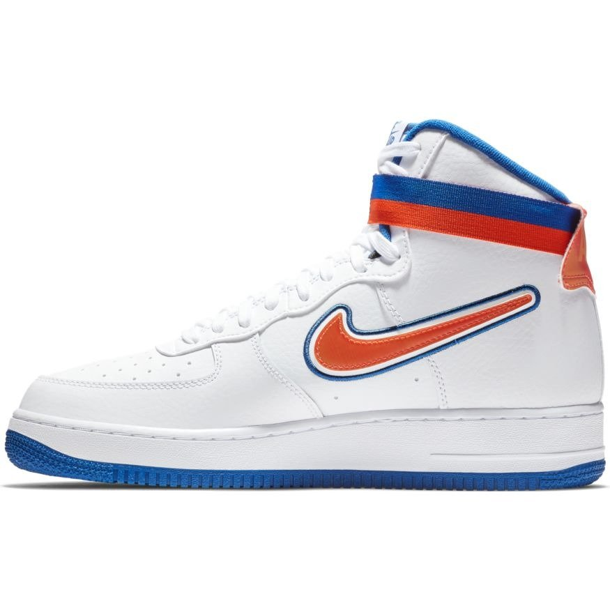 new products 6e5d8 b9f77 ... Nike Air Force 1 High  07 LV8 Sport NBA New York Knicks Shoes - AV3938  ...