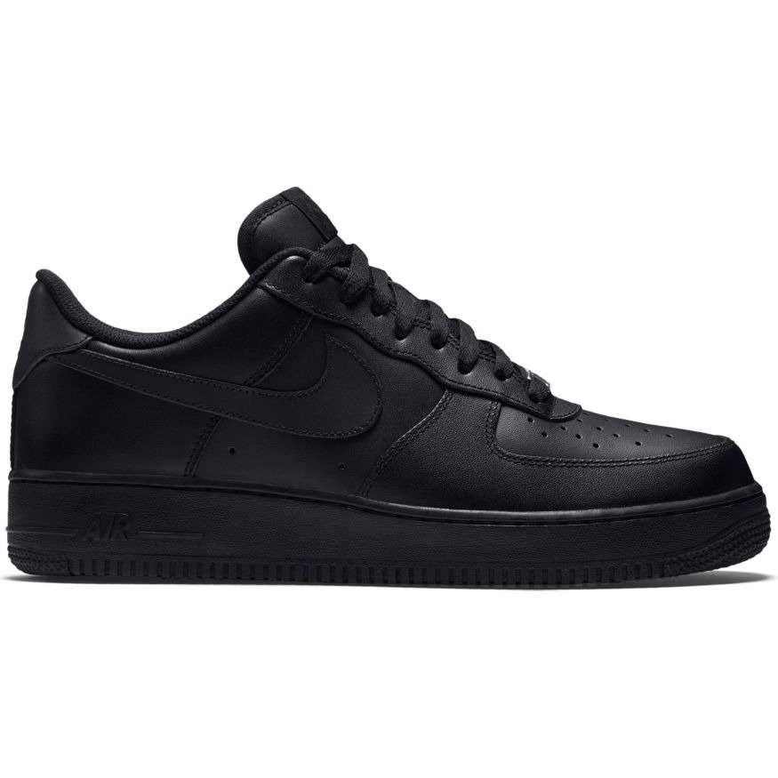 huge selection of 68f4c 99518 Nike Air Force 1 Low All Black Shoes - 315122-001