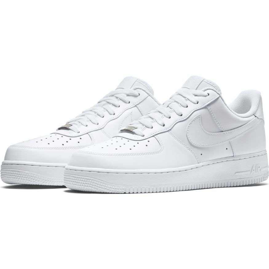 b0f2e852ee0 ... Nike Air Force 1 Low All White Shoes - 315122-111 ...