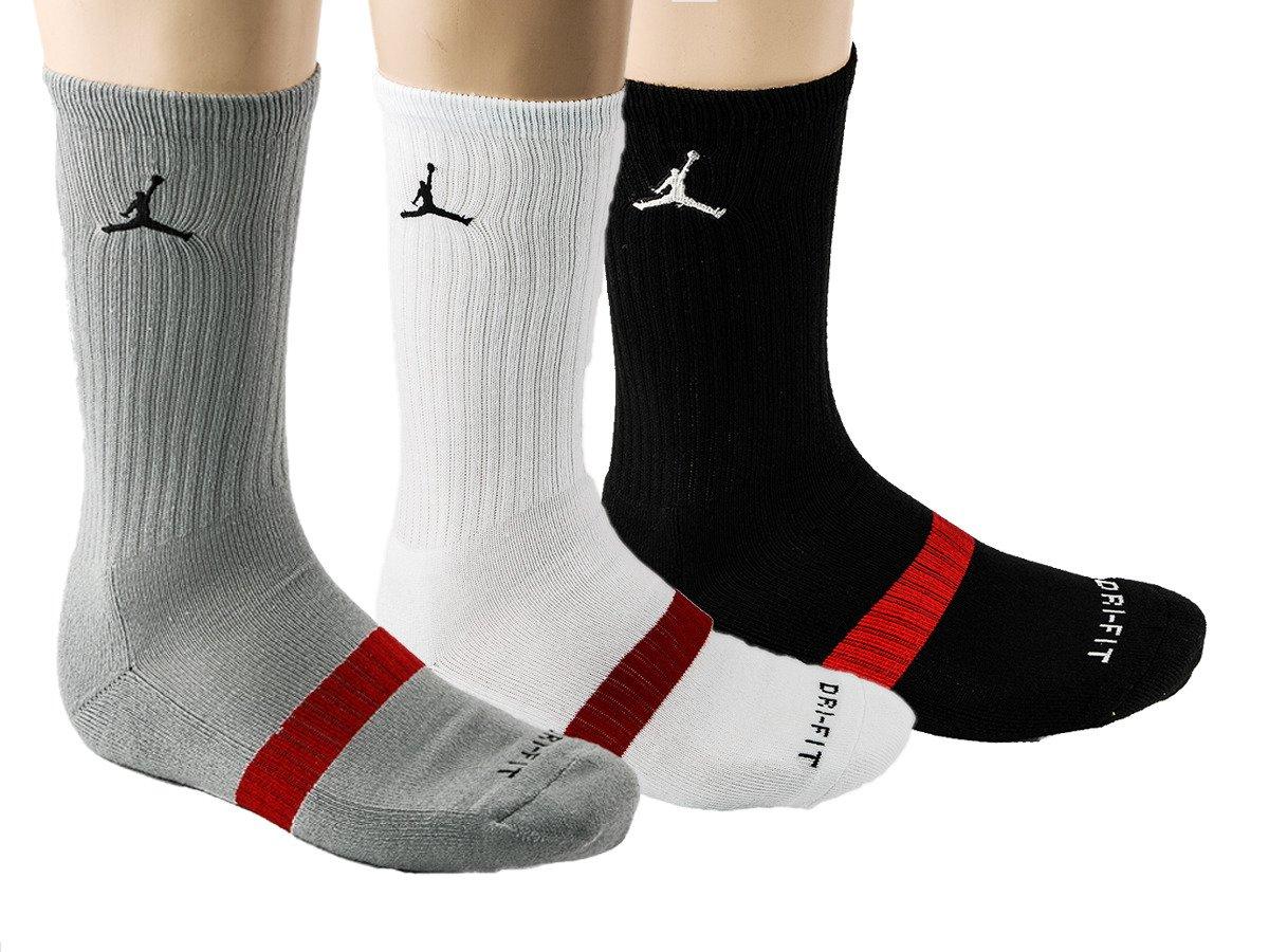 Mens Jordan Dri-FIT Crew Socks Xmas d5bbbf38d8f8