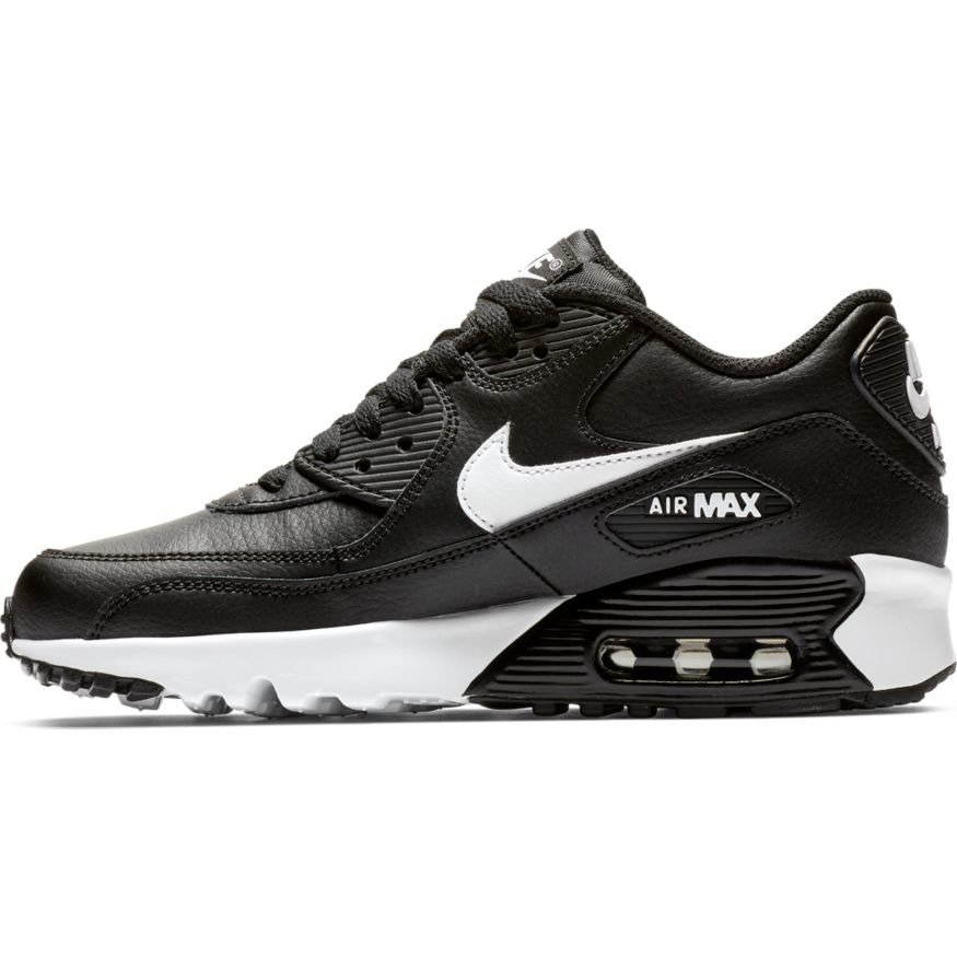 Nike Air Max 90 Leather Shoes (GS) 833412 025