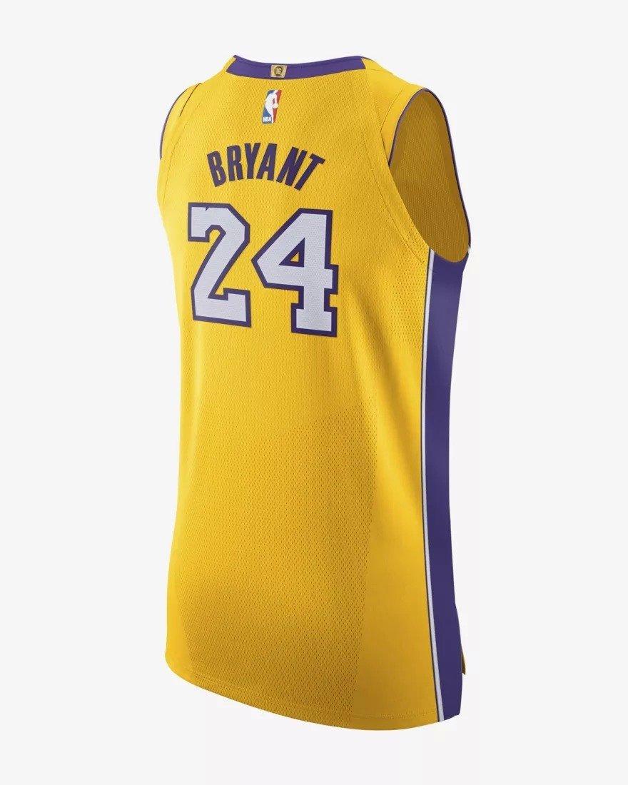 buy popular 72082 381ec Nike Authentic NBA Jersey Home Kobe Bryant Jersey - AQ2107-728