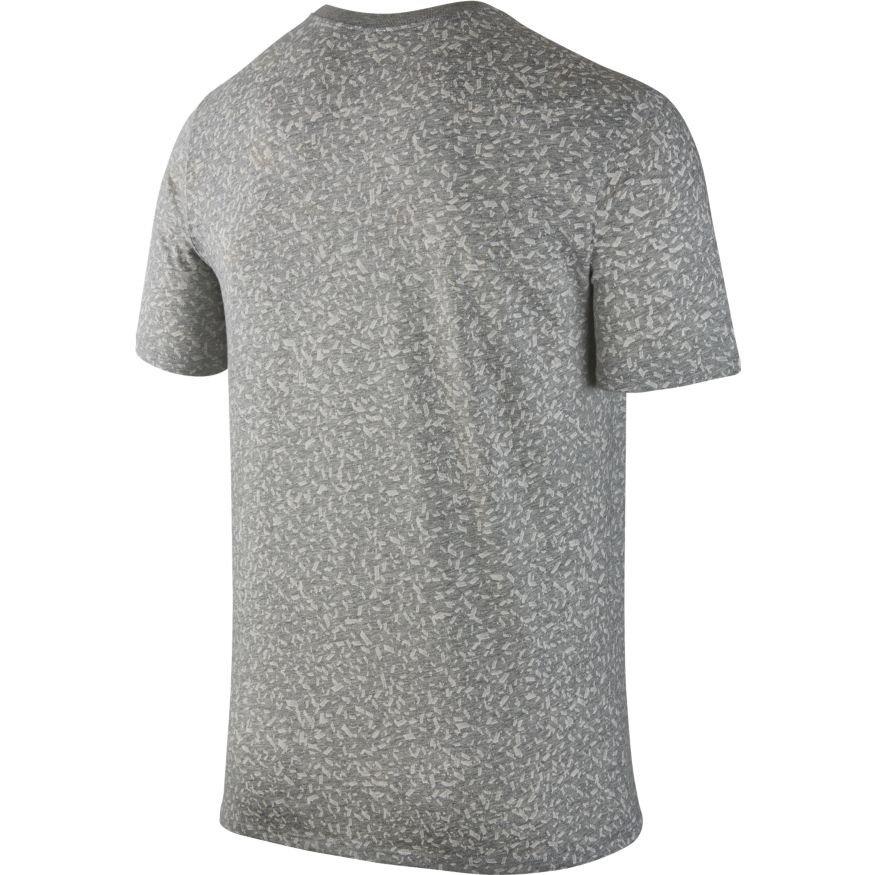 Nike dry basketball t shirt 844462 063 szary for Nike custom t shirts