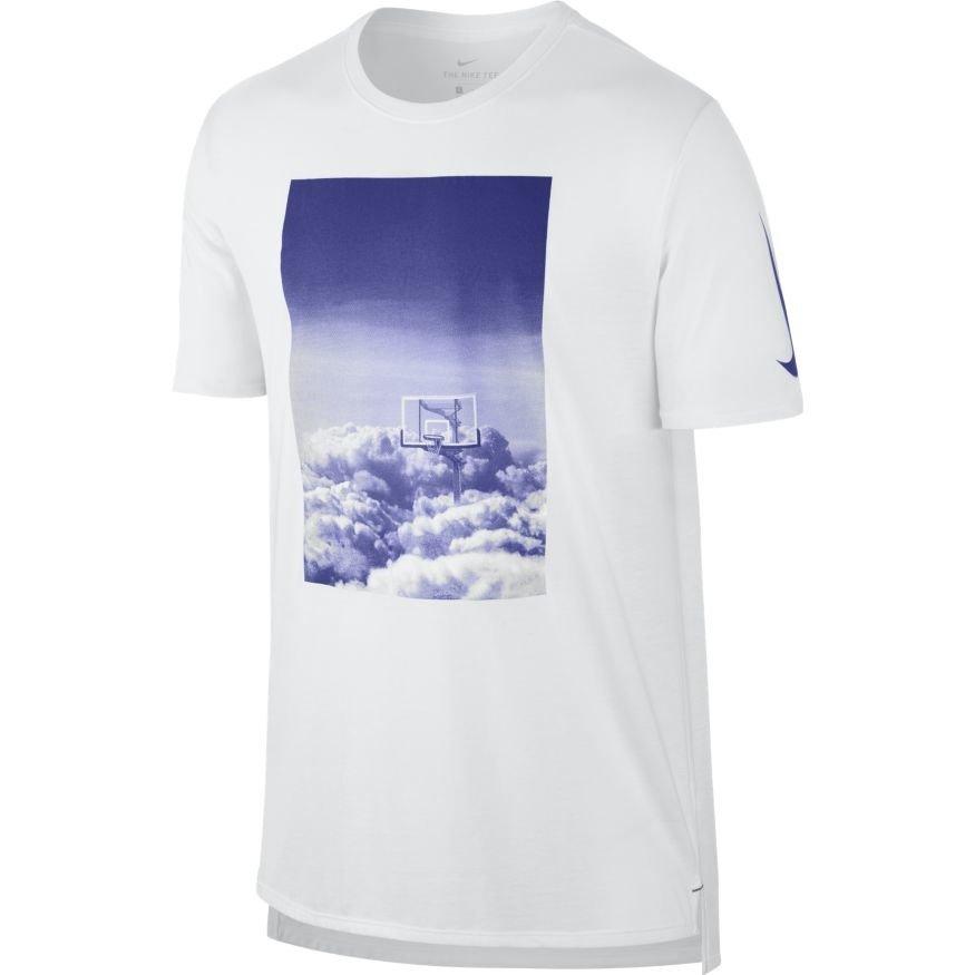 Nike dry tee hoop heaven t shirt 844504 101 basketball for Nike custom t shirts