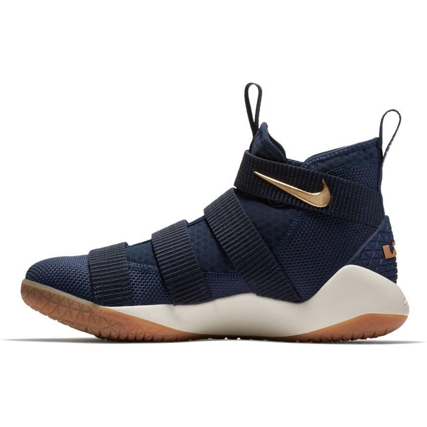 83fa697f753 ... white black gold mens basketball shoes  nike lebron soldier 11 cavs  alternate 897644 402