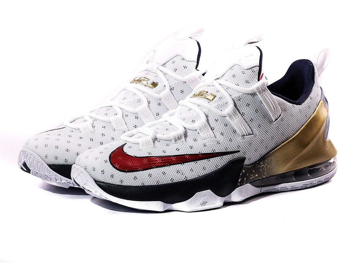 Nike Lebron Xiii Red Shoes Size