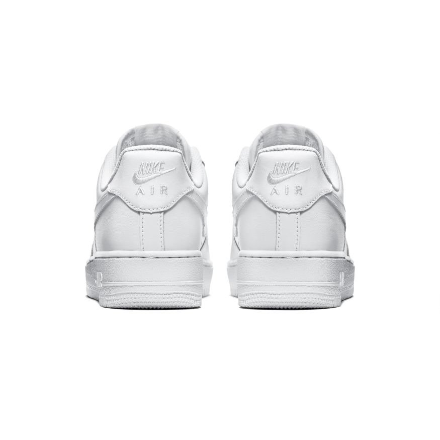 efdbaaf4823a ... Nike Wmns Air Force 1 Low All White Shoes - 315115-112 ...