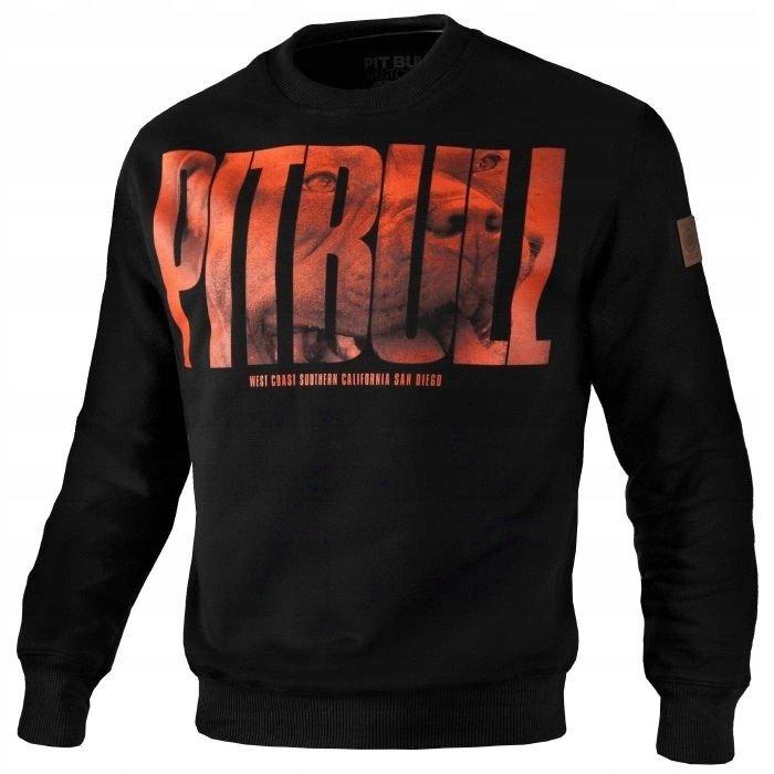 Pit Bull West Coast Orange Dog Sweatshirt