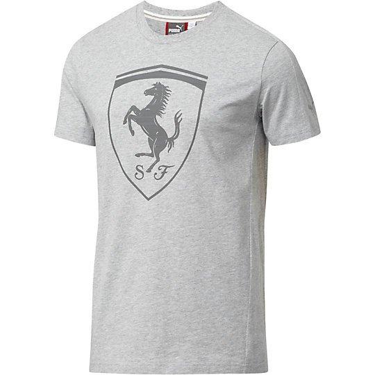 sleeve long s picclick shirt puma grey mens men t ferrari