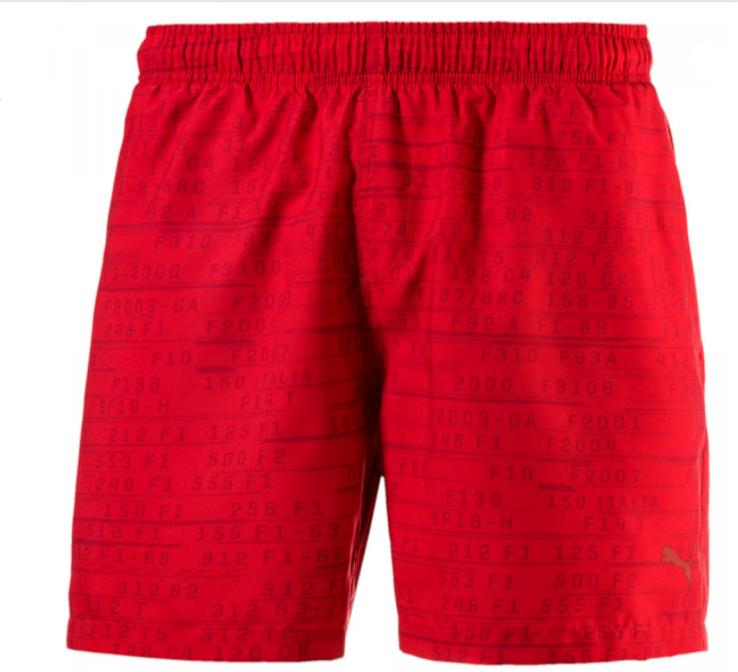 15342c64aa4e Puma Ferrari Swim Shorts - 572815-02