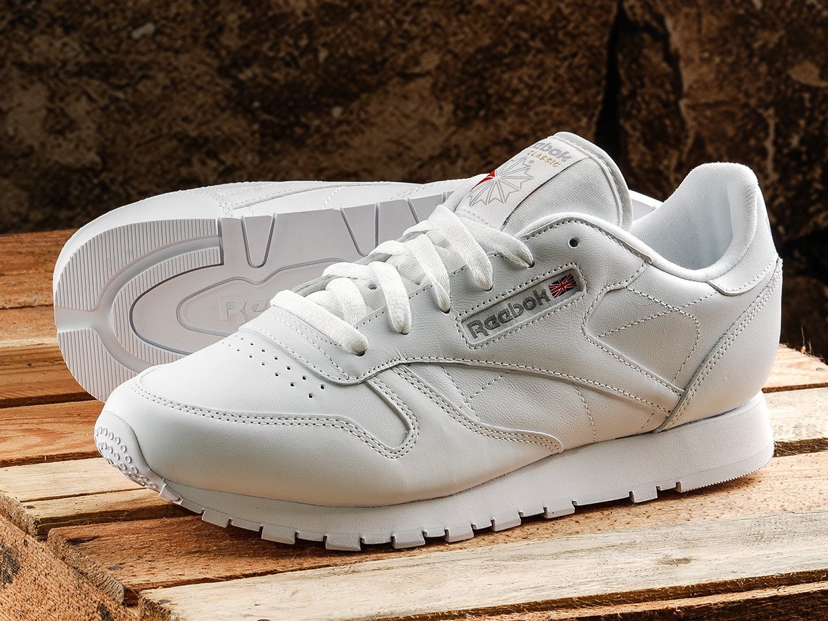 d50e4986daeefc Reebok Classic Leather Shoes - 2232 Intense White