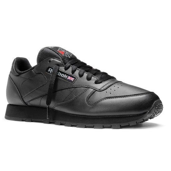 Reebok Classic Leather Shoes - 2267 Intense Black   Basketball Shoes ... 16d82dde89fe