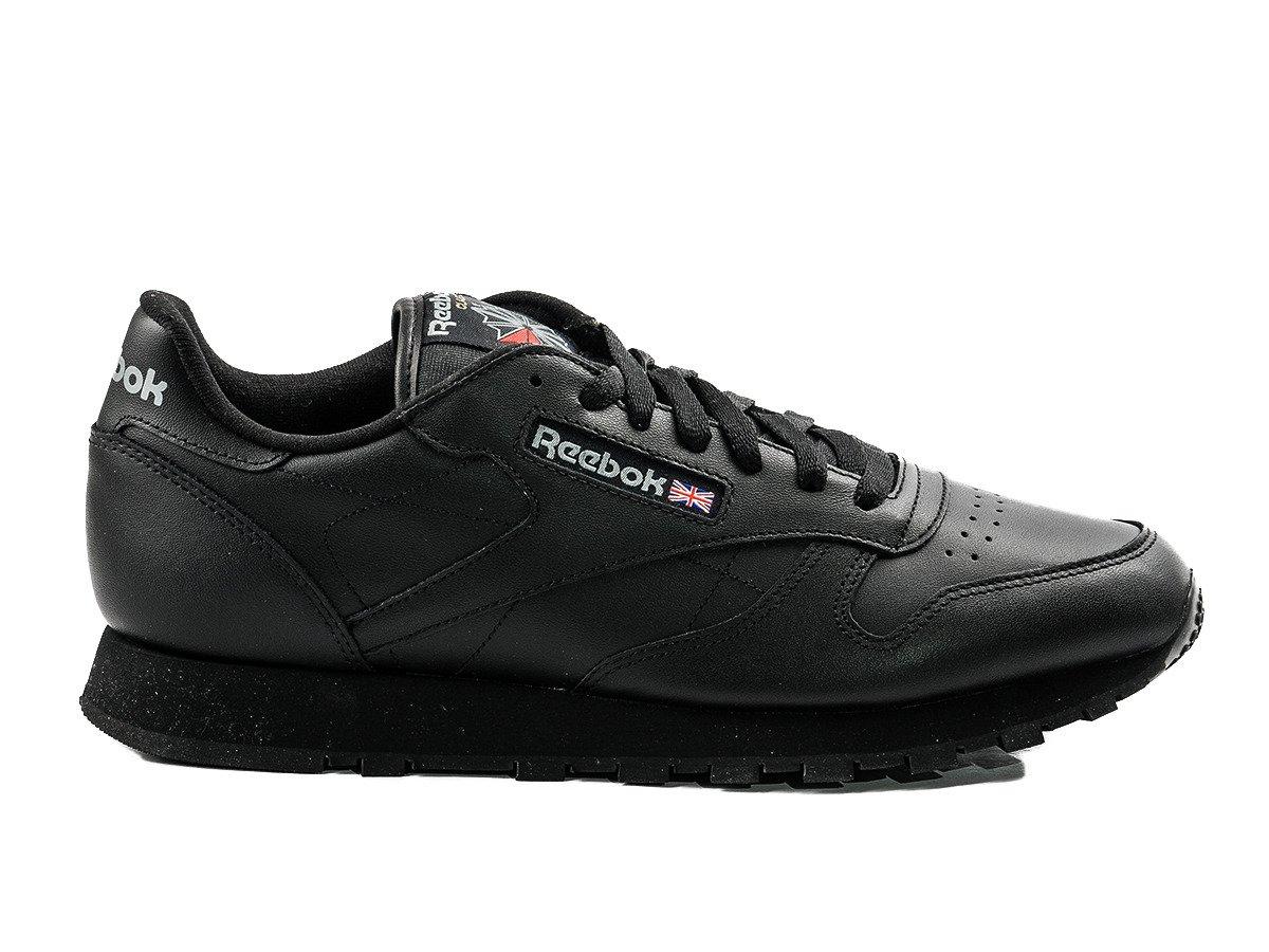 reebok classic leather shoes 2267 intense black. Black Bedroom Furniture Sets. Home Design Ideas