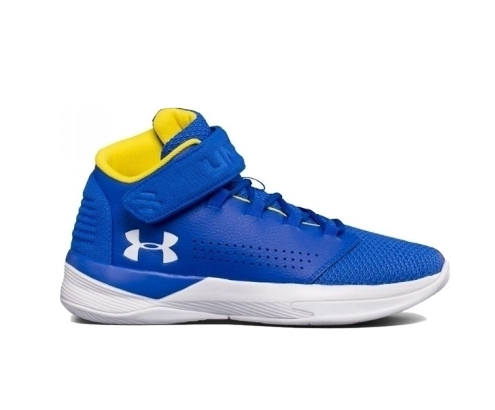Under Armour Get B Zee Golden State Warriors Shoes 1298310 400
