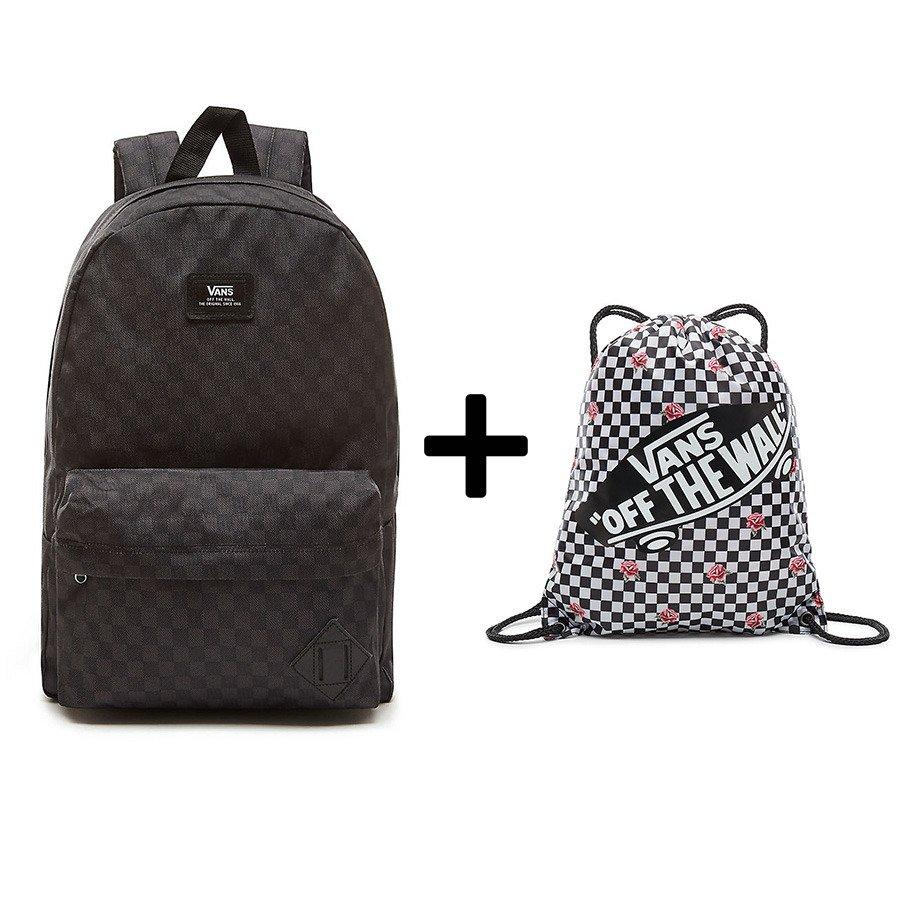 tanie z rabatem tanie z rabatem taniej VANS - Old Skool II Backpack - VN000ONIJ2R 810 + Sports Bag