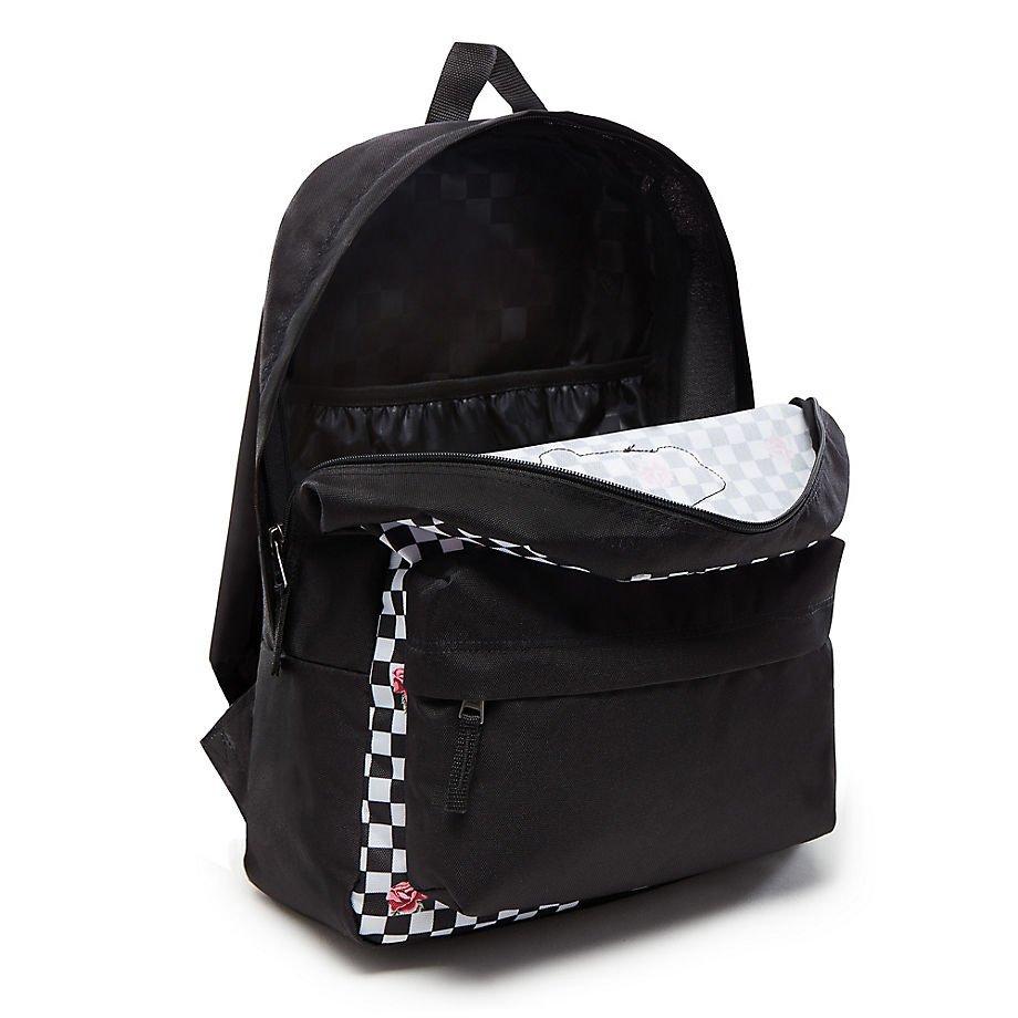 529dabb15469 VANS Realm Rose Checker Backpack - VN0A3UI6YFK 447 VN0A3UI6YFK 447 ...