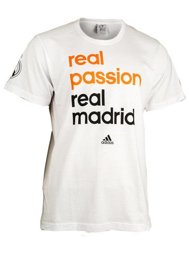 adidas real madrid tee t shirt m67685 basketball clothing casual wear t shirts sklep. Black Bedroom Furniture Sets. Home Design Ideas